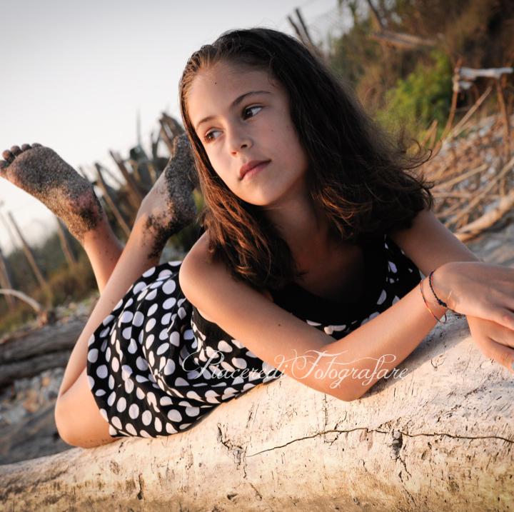 Gemma - Piccola modella