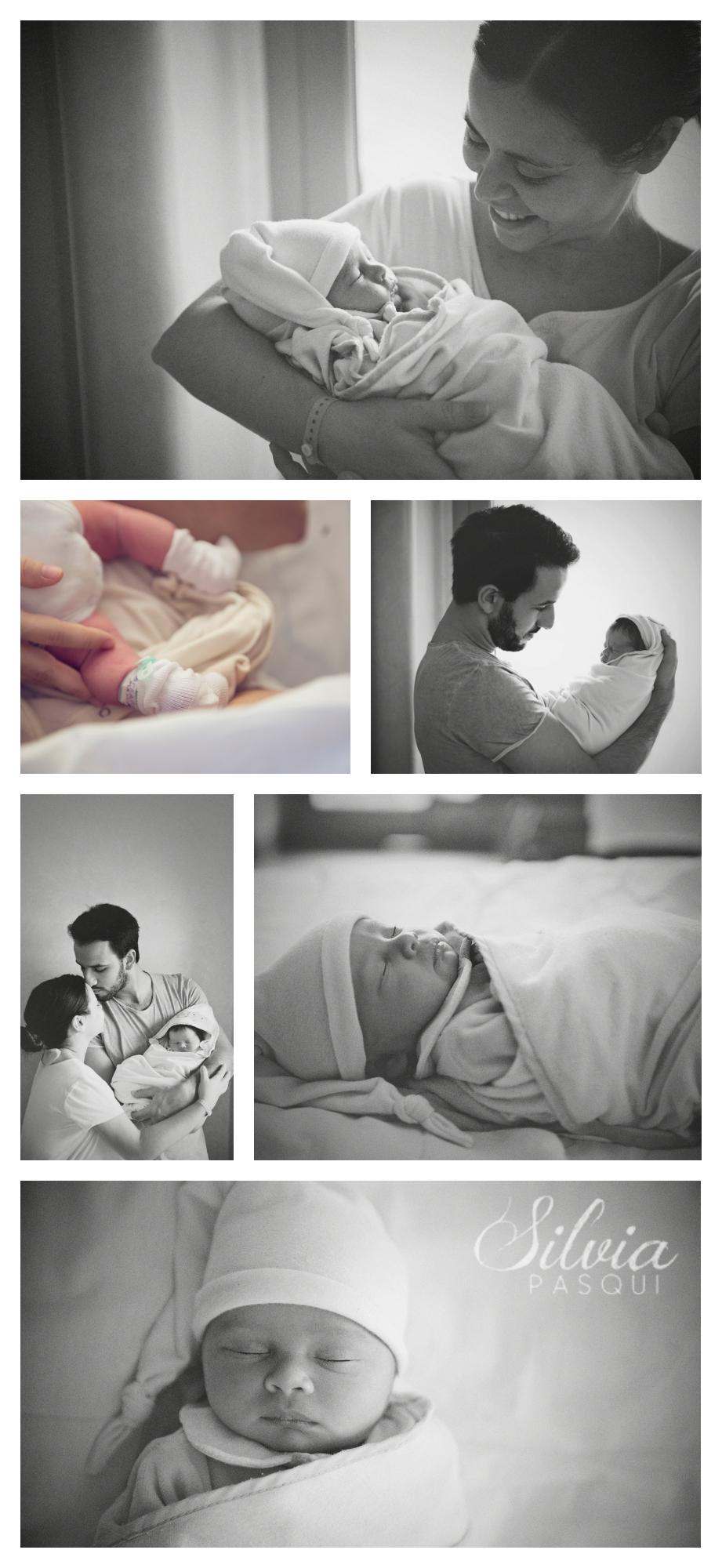 fotografie neonati in ospedale prime ore di vita