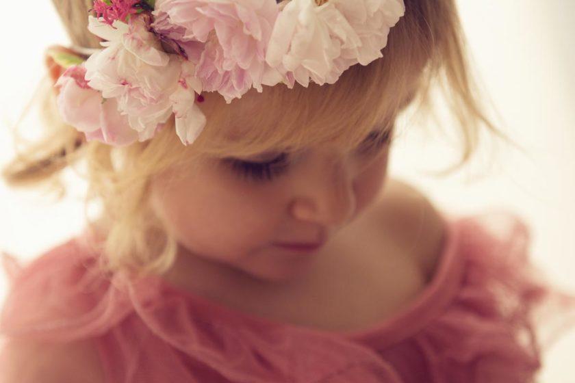 fotografie bambini fiori roma vivi