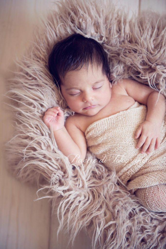 Favoloso Racconto servizio fotografico neonata Roma, Nina TV55