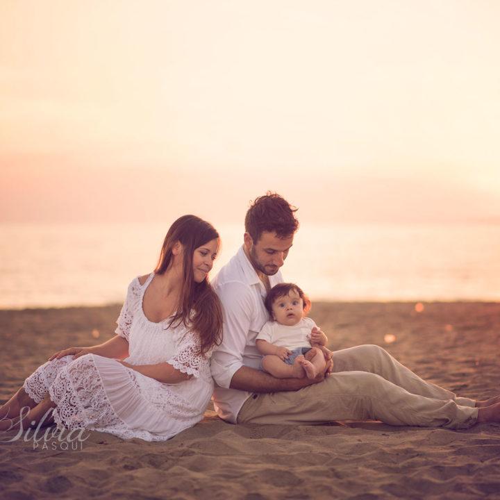 Fotografie bambini al mare