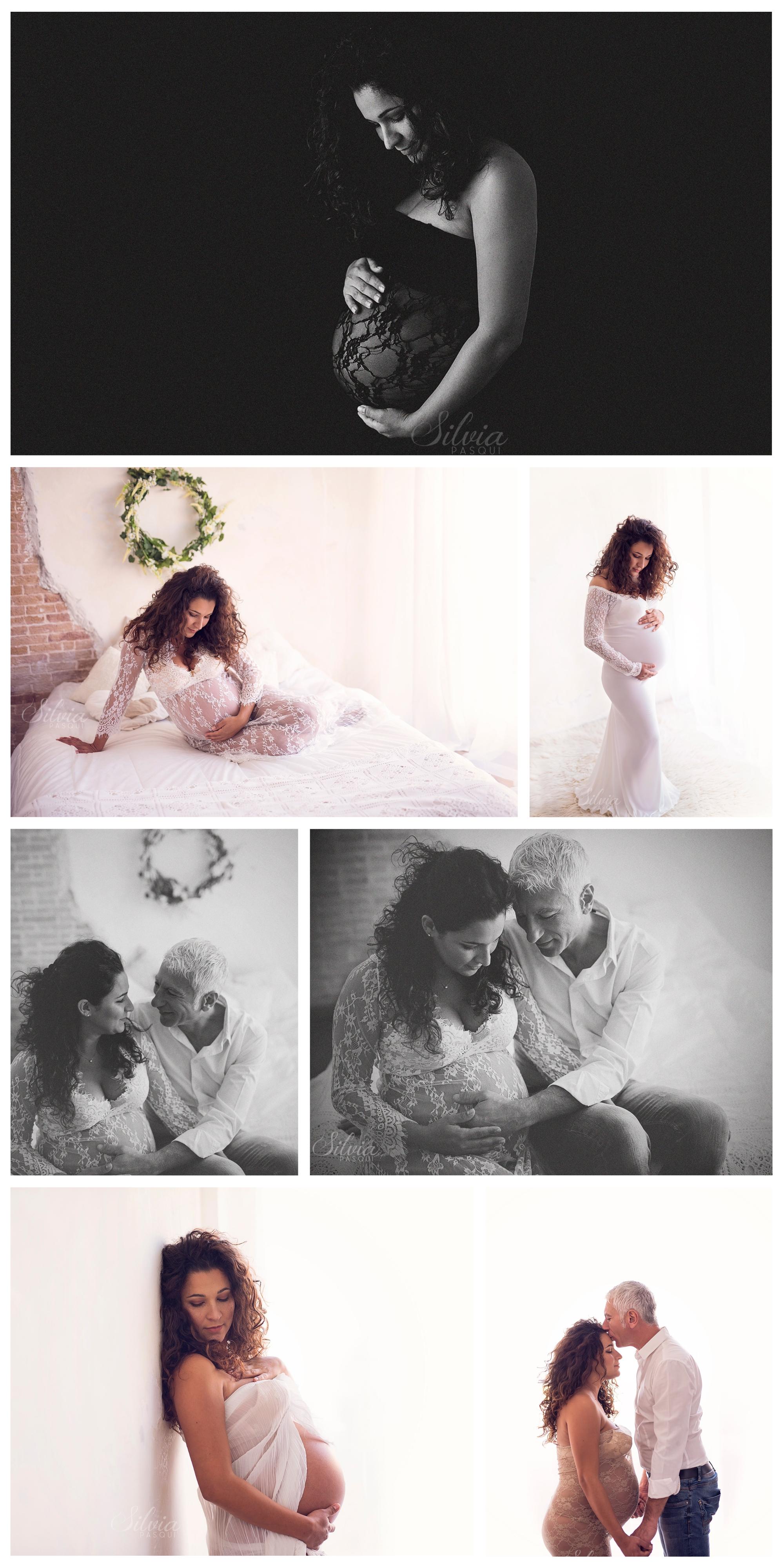 fotografie donne incinta roma