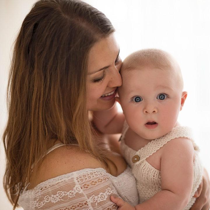 Gioele, 8 mesi