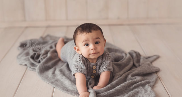 Giulio, 7 mesi
