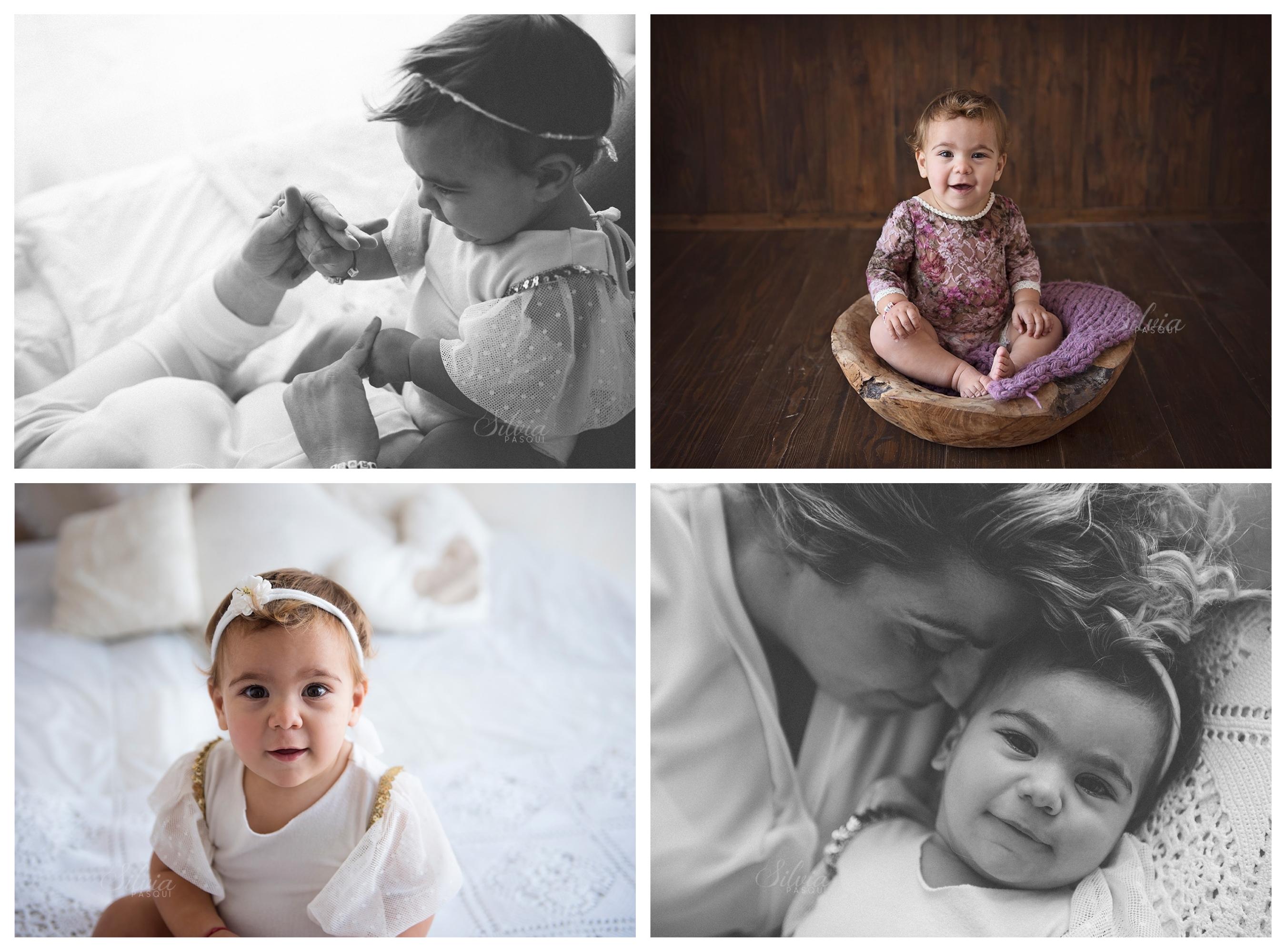 Servizio fotografico bambina un anno