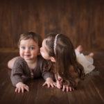 foto artistiche per bambini fratellini