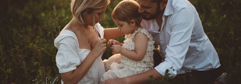 Leda, mamma e papà