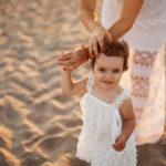 fotografie bambini mare