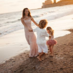 servizio fotografico mare famiglia