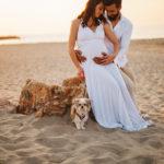 gravidanza mare foto artistiche