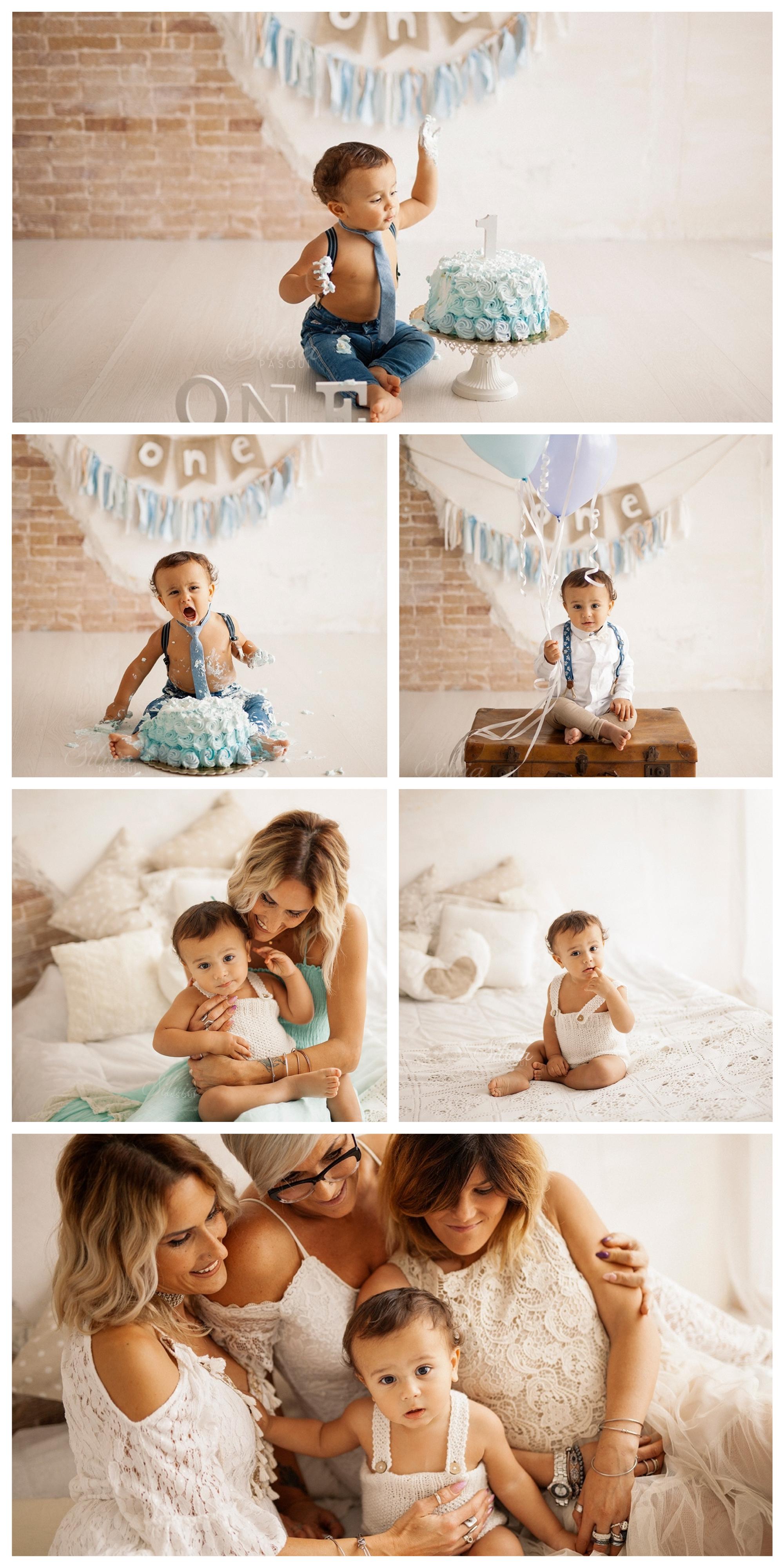 foto bambini un anno