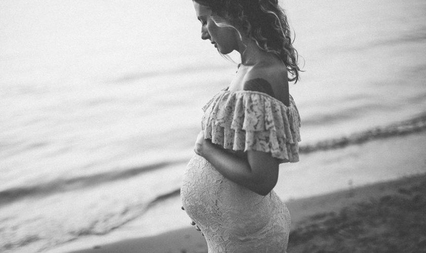 book foto al mare gravidanza