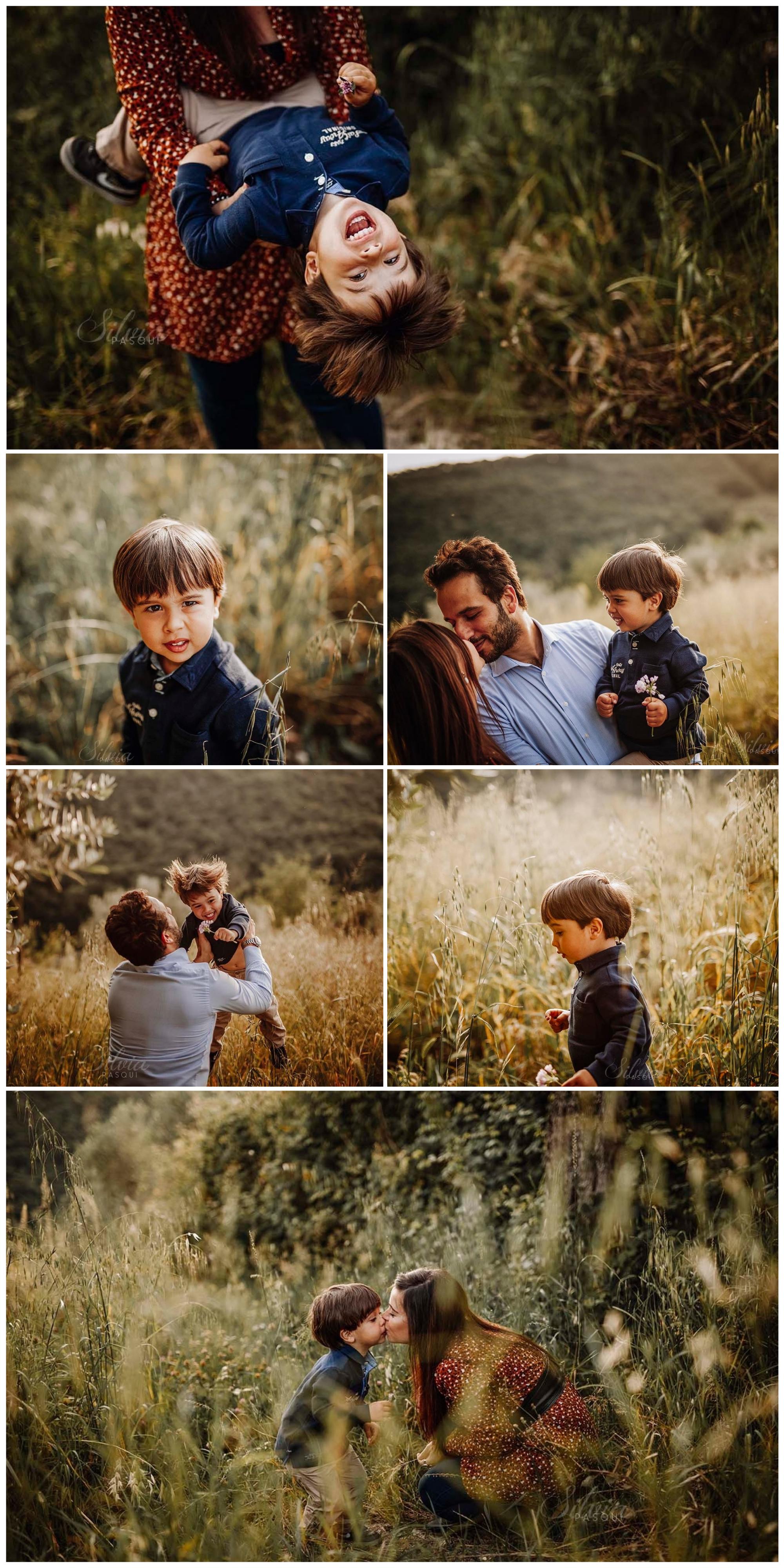 servizio fotografico famiglia esterno