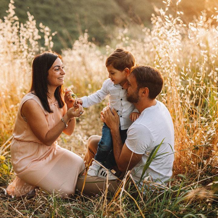 Davide e family