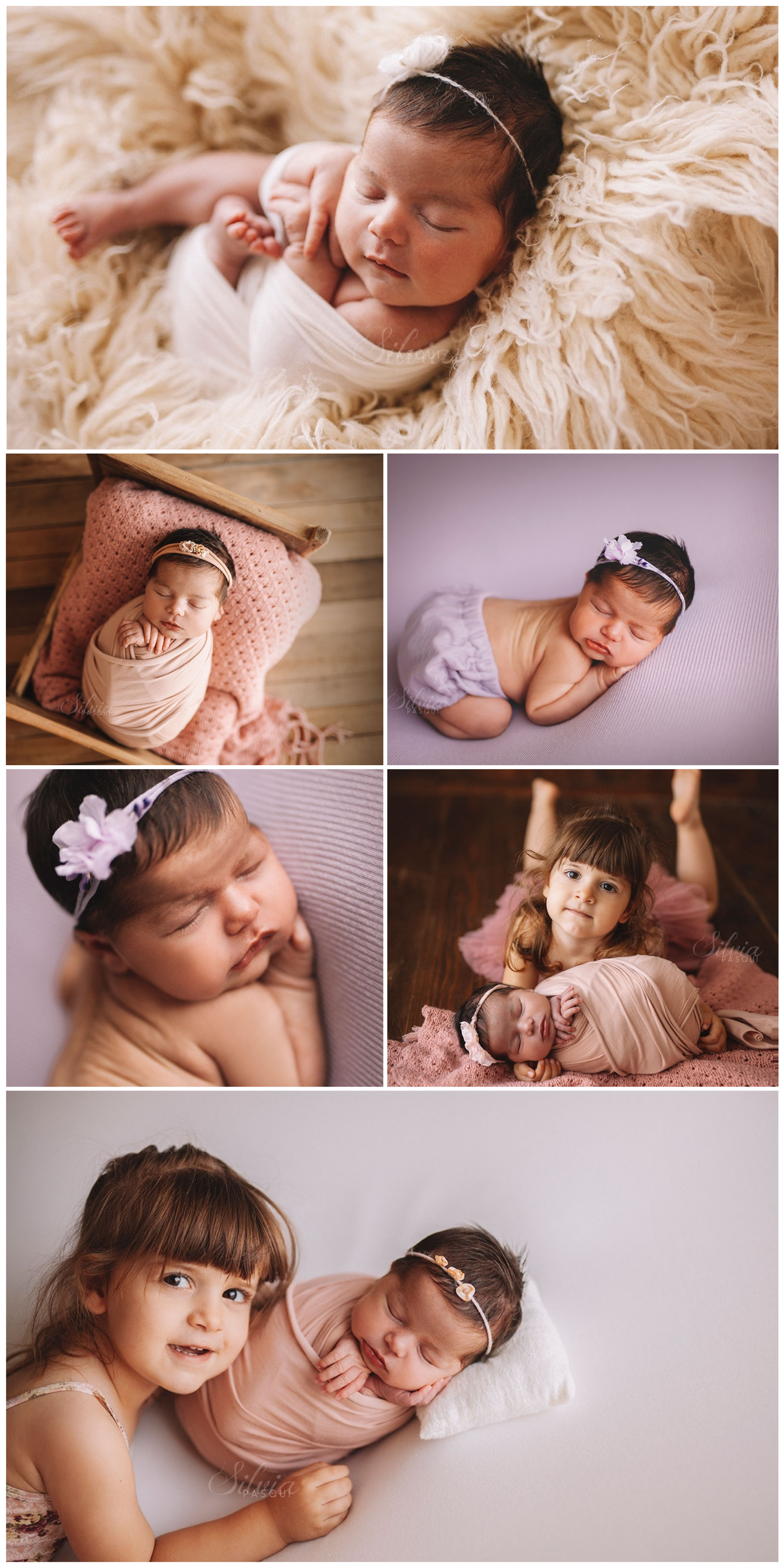 Fotografa famosa neonati