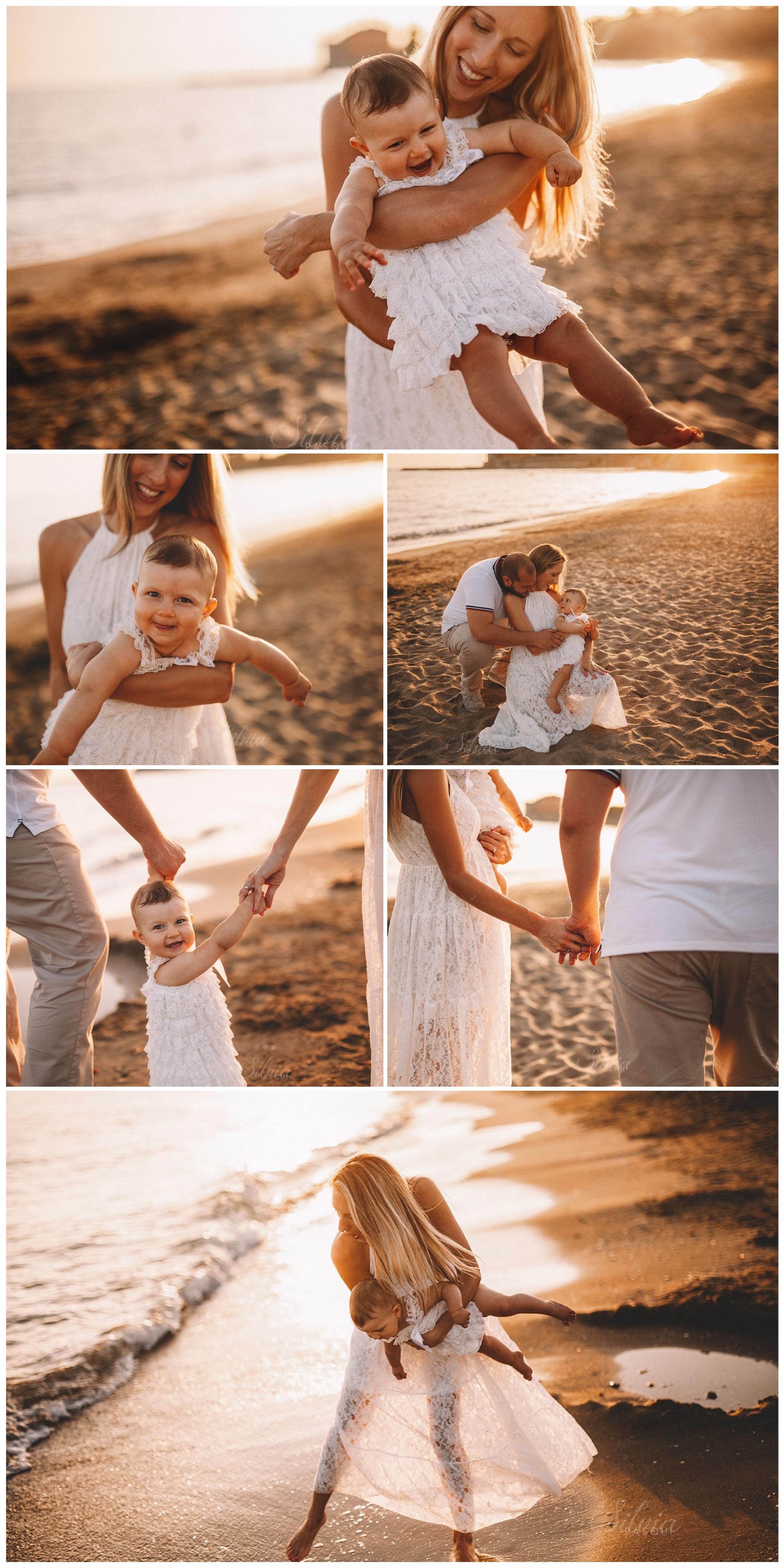 servizio foto famiglia al mare