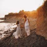 fotografa bambini al mare roma