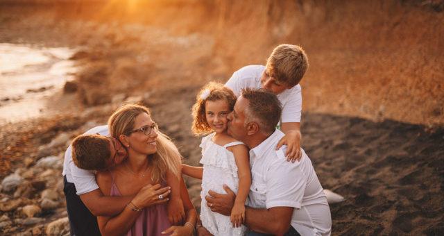 Sara e family