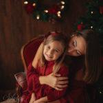 fotografie artistiche natalizie bambini
