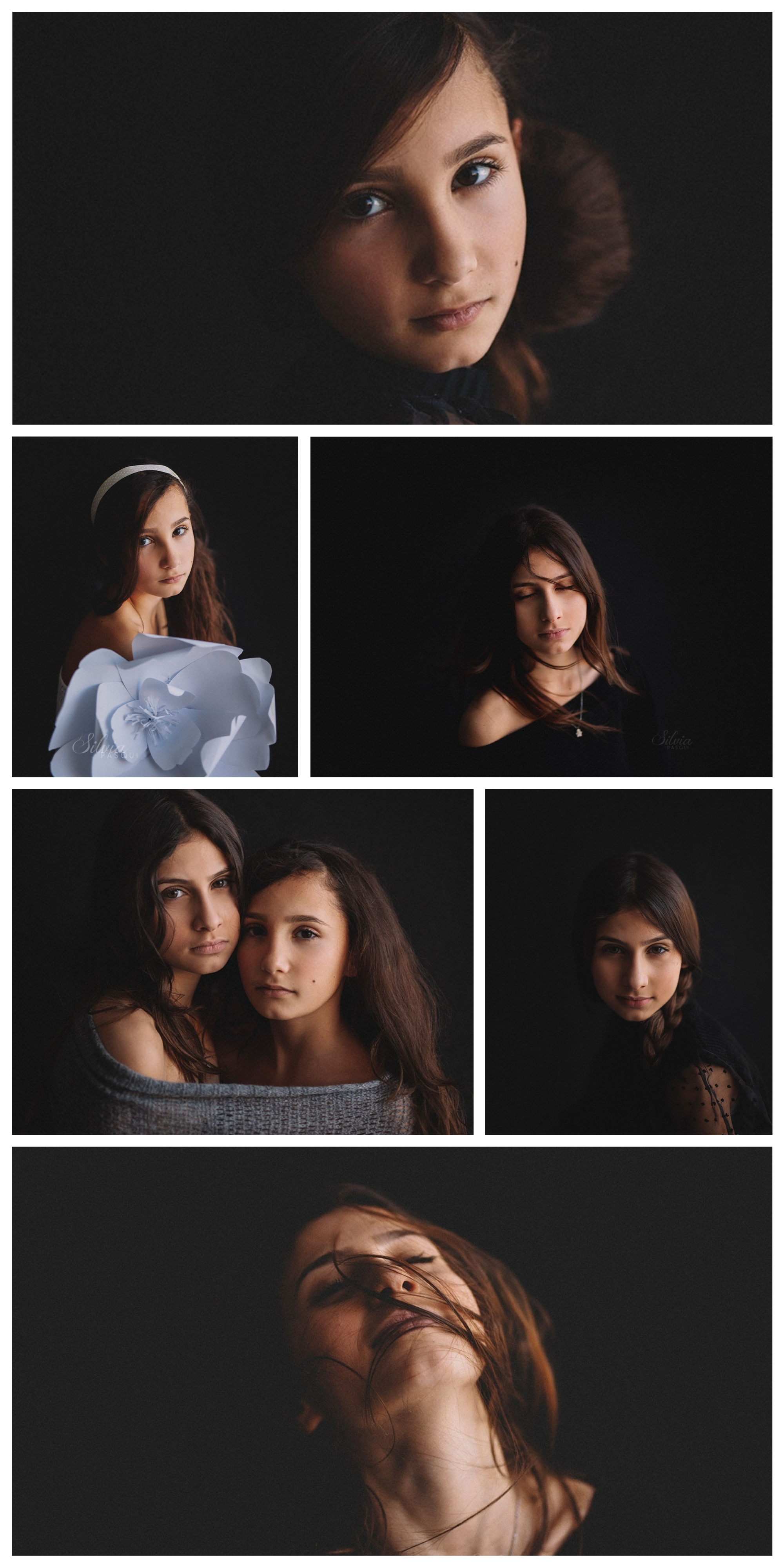 ritratto foto ragazze