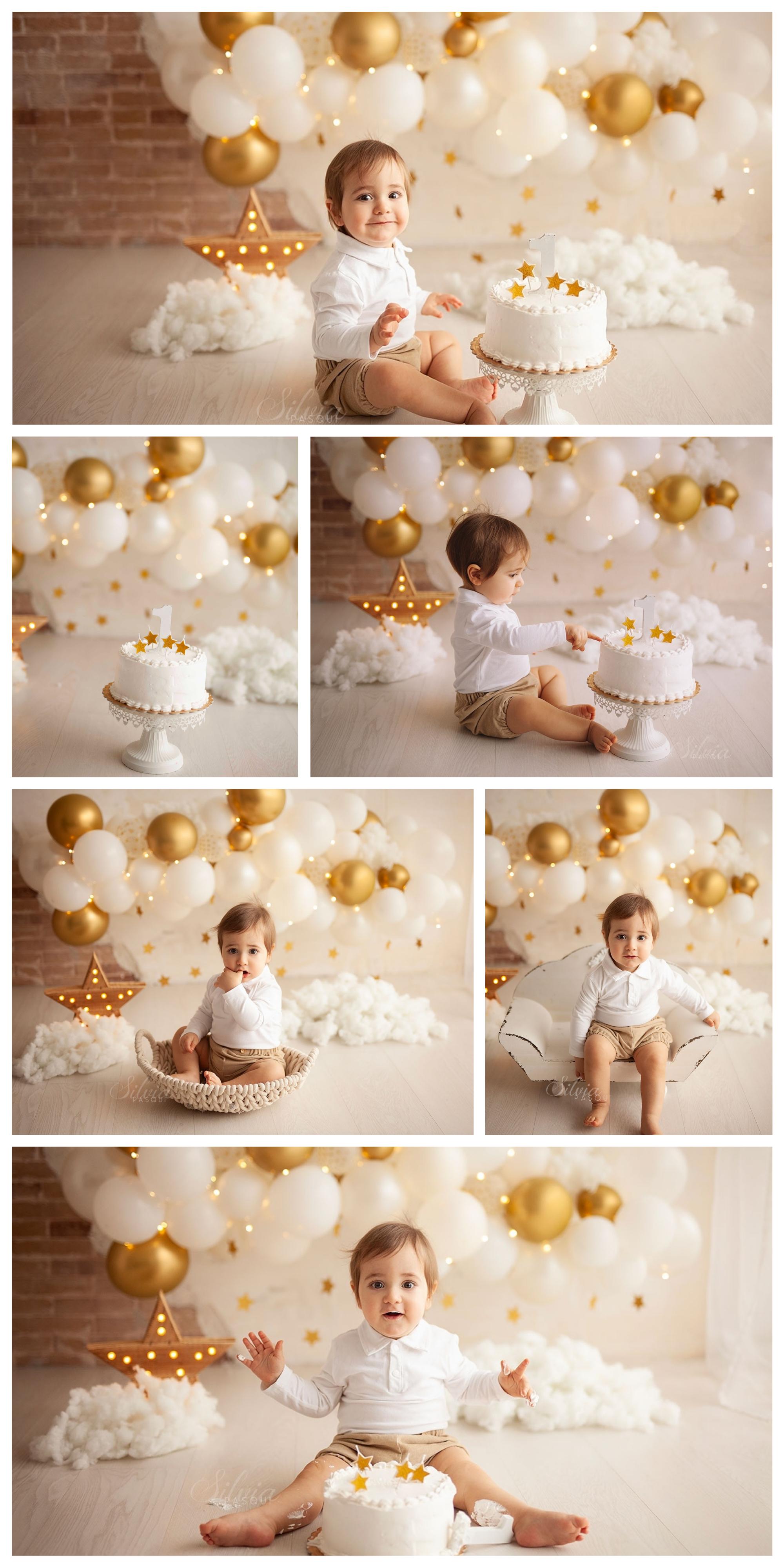 foto un anno bambini