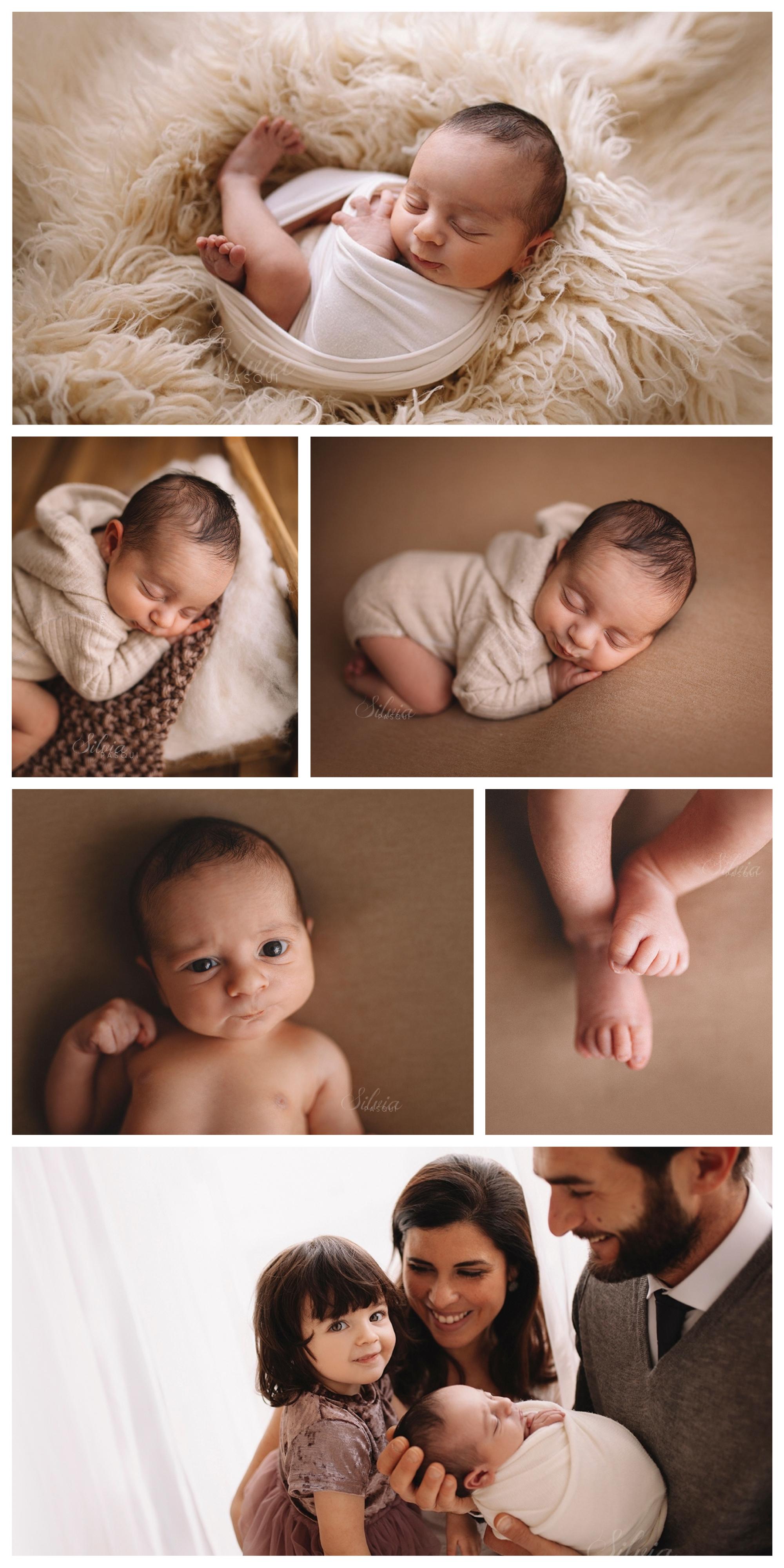 famiglia neonato fotografo