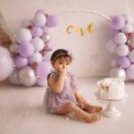 foto primo anno palloncini e torta