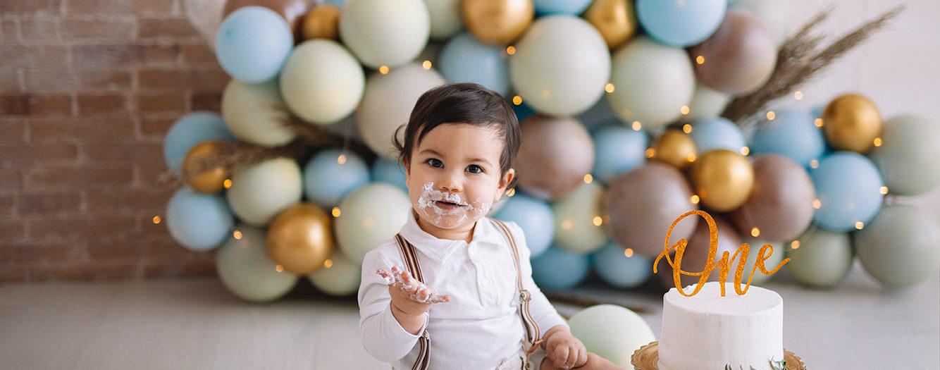 Smash cake Cristian