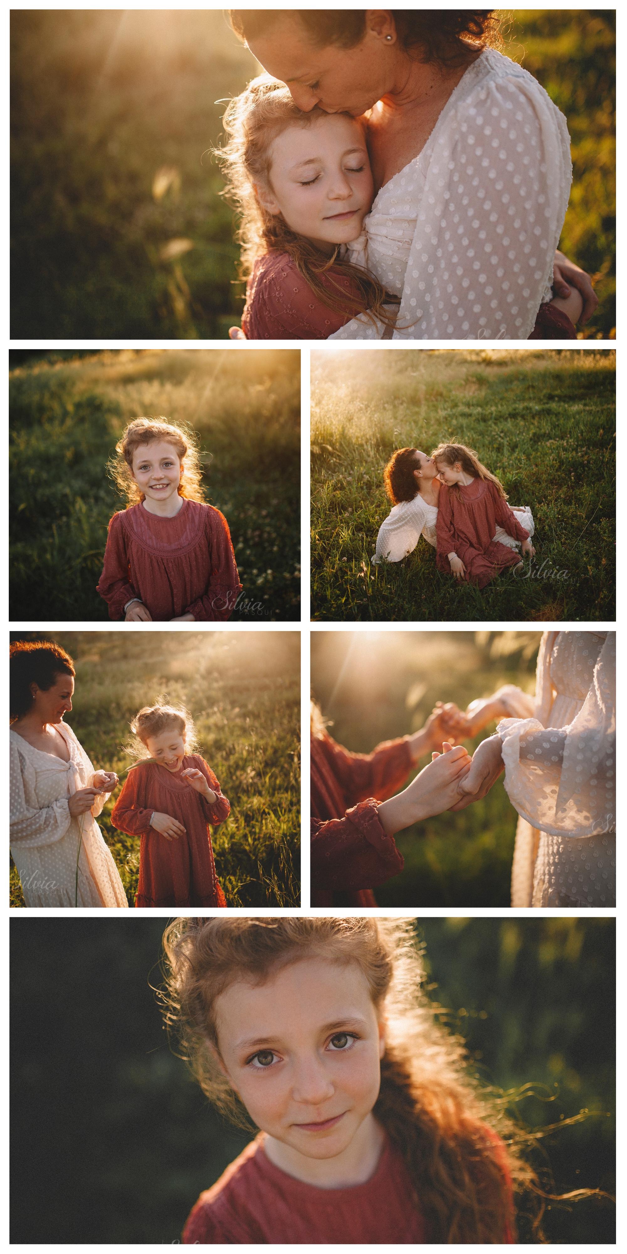 mamma e figlia servizio fotografico