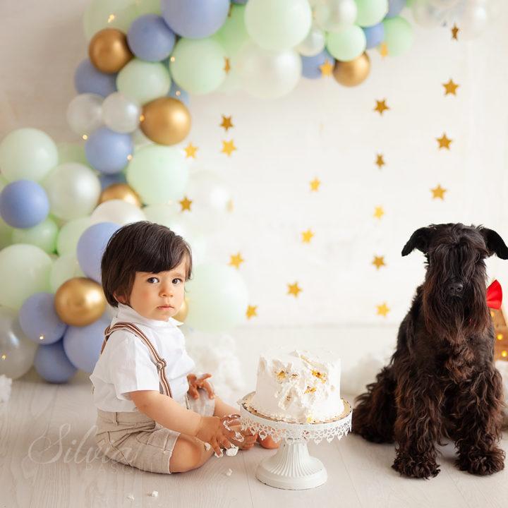 Smash cake Bruno