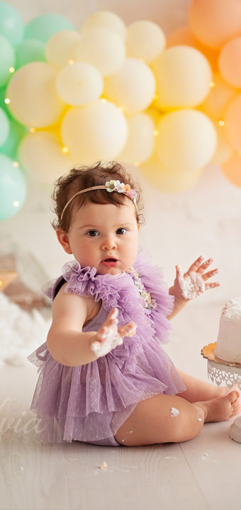 Smash cake Giulia