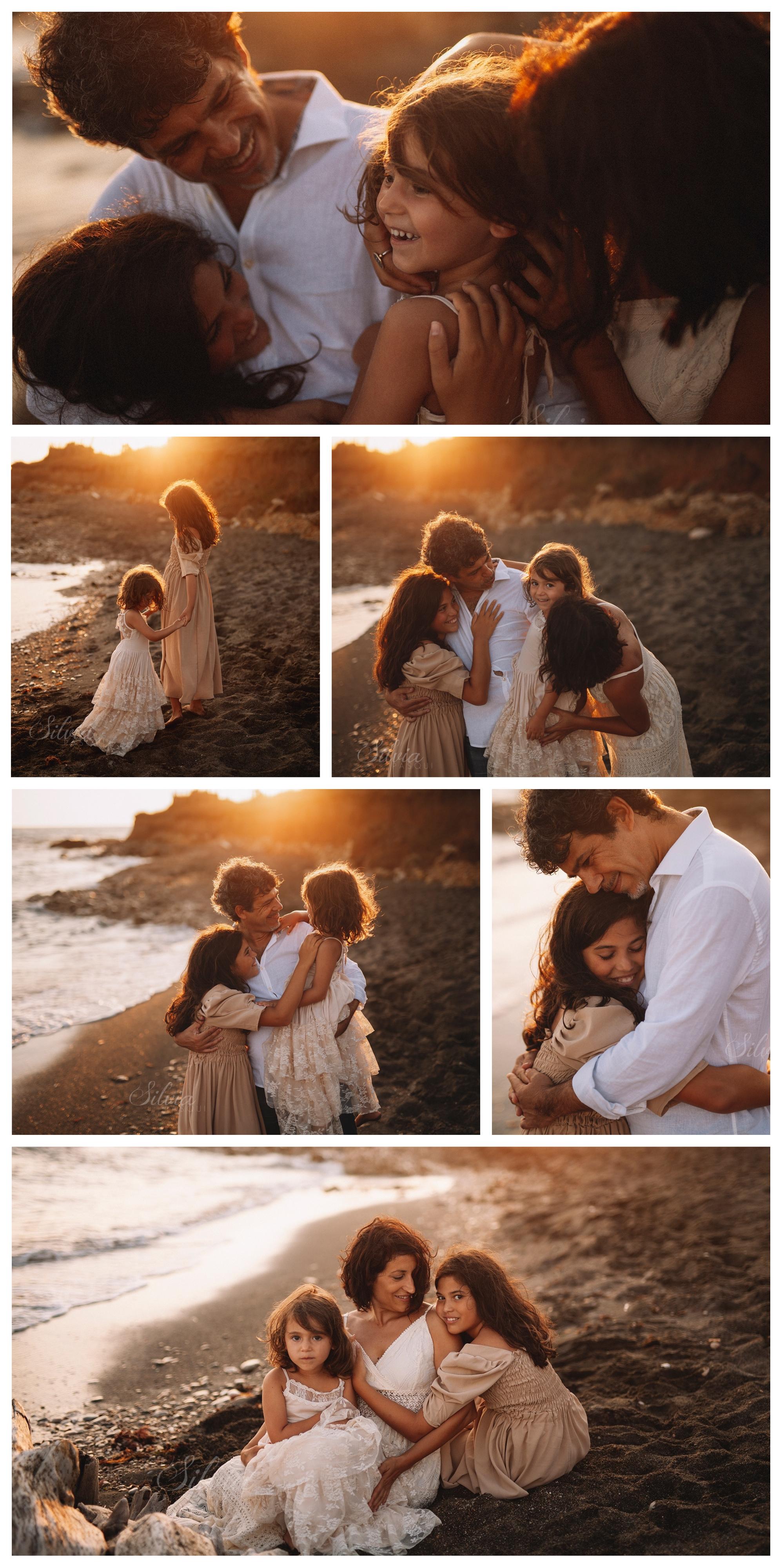 servizi-foto famiglia-mare-roma