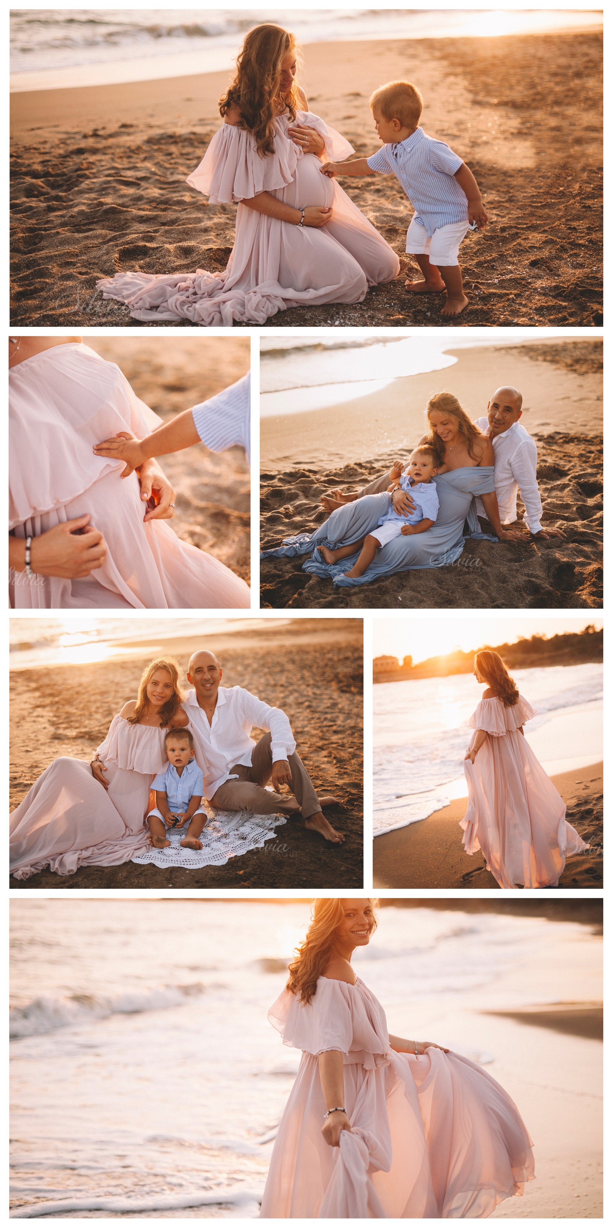 servizio fotografico mare gravidanza elena